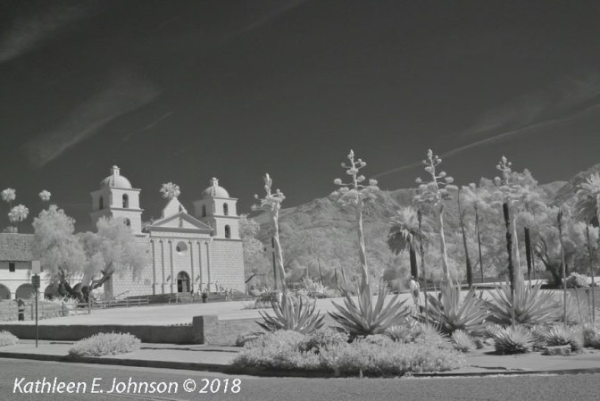 IR at Mission Santa Barbara