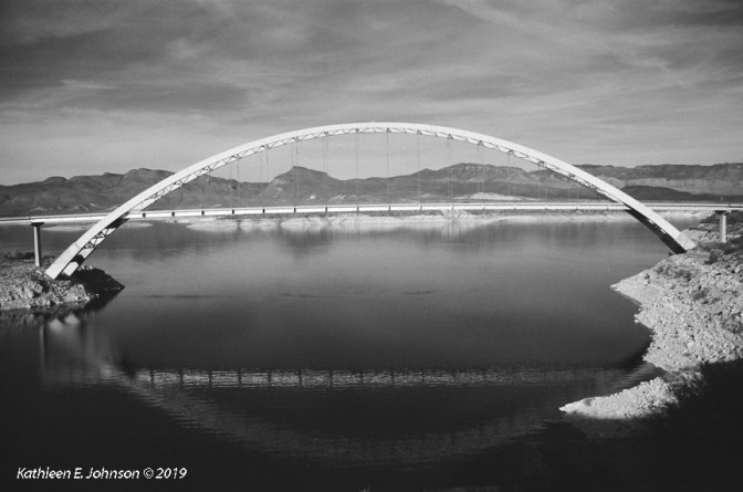 My Personal Ilford FP4 Party at the Salt River Bridge