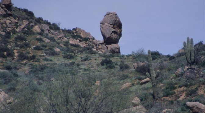 The Face at Sears-Kay Ruins