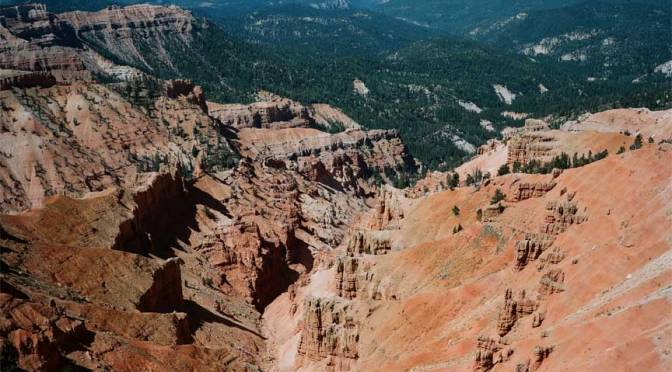 Cedar Breaks and No Snow……