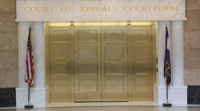 Doors from the New State Supreme Courthouse, Denver, Colorado