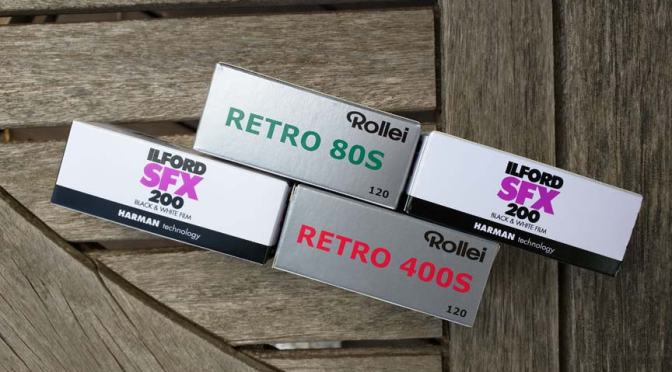 IR Sensitive Films: Retro 400S
