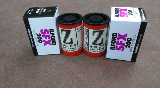 Prelim Discussion of IR-Sensitive B&W Films Part II: Washi-Z ISO 400
