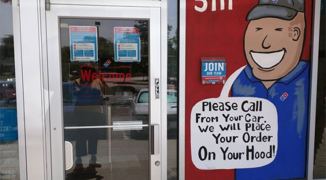 Domino's Door:  For the Hood